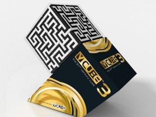 3x3 versenykocka, Labirintus (V-Cube, egyszemélyes logikai játék, 7-99 év)