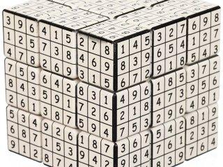 3x3 versenykocka, V-udoku (V-Cube, egyszemélyes logikai játék, 7-99 év)