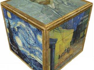 3x3 versenykocka, Van Gogh (V-Cube, egyszemélyes logikai játék, 7-99 év)