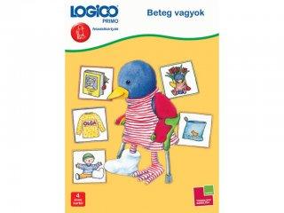 4 éves kortól: Logico primo, Beteg vagyok (3233, fejlesztő feladatlapok gyerekeknek)