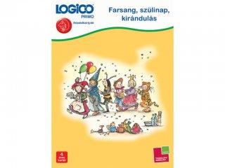 4 éves kortól: Logico primo, Farsang, szülinap, kirándulás (fejlesztő feladatlapok gyerekeknek)