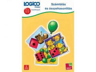 4 éves kortól: Logico primo, Számlálás és összehasonlítás (3224, fejlesztő feladatlapok gyerekeknek)  - képek mellékletben a feladatokról!