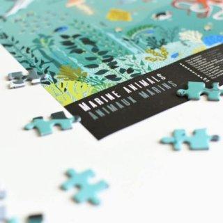 500 db-os oktató puzzle, Óceán (Poppik, 7-12 év)
