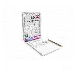 50 képregény, foglalkoztató kártyák, Purple Cow utazójáték (6-10 év)