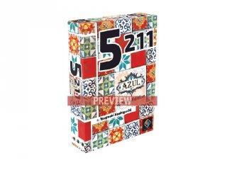 5211 - Azul Edition, gyorsasági, megfigyelős kártyajáték (8-99 év)