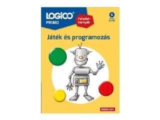 5 éves kortól: Logico primo, A programozás alapjai ovisoknak (1259, fejlesztő feladatlapok, 3-6 év)