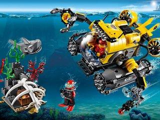 60092, Deep Sea Submarine (Lego city, Mélytengeri tengeralattjáró, 6-12 év)