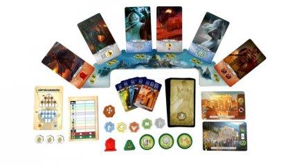 7 Csoda Párbaj Panteon kiegészítő, kétszemélyes stratégiai társasjáték (10-99 év)