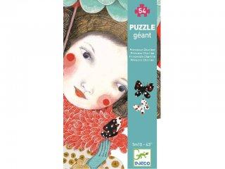 Óriás puzzle, Hercegnő (Djeco, 7127, 54 db-os kirakó, 5-8 év)