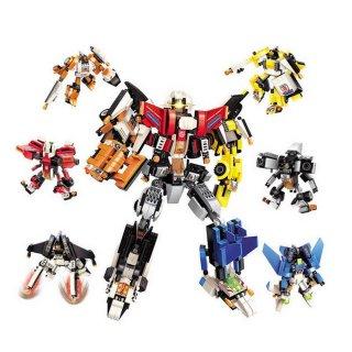 A csillag magjának őrzője, 6 az 1-ben Lego kompatibilis építőjáték készlet (QMAN, 3102, 6-12 év)