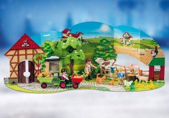 A gazdaságban Playmobil Adventi naptár