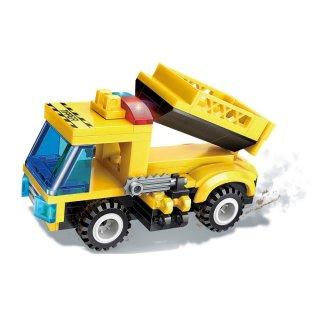 A harci szekér legendája, 8 az 1-ben Lego kompatibilis építőjáték készlet (QMAN, 1408, 6-12 év)