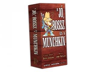 A Jó, a Rossz és a Munchkin, társasjáték (DV, kommunikációs játék, 10-99 év)