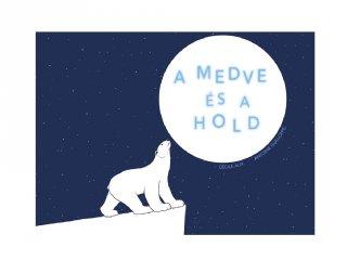 A medve és a hold, Papírszínház mese (Cécile Alix)