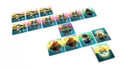A Nyugalom tengere, kooperatív kártyajáték (8-99 év)