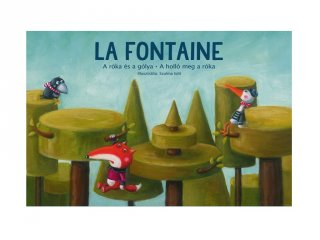 A róka és a gólya, A holló meg a róka, Papírszínház mese (La Fontaine)