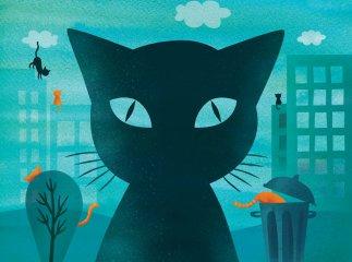 A soknevű macska, Papírszínház mese (Tasi Katalin)