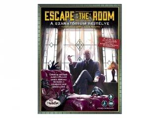 A szanatórium rejtélye, Escape the room, nyomozós kooperatív társasjáték (8-99 év)