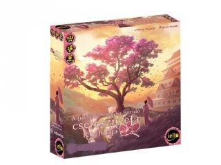 A tízévente virágba boruló cseresznyefa legendája, stratégiai társasjáték (8-99 év)