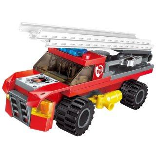 A tűzoltó lovag, 8 az 1-ben Lego kompatibilis építőjáték készlet (QMAN, 1410, 6-12 év)