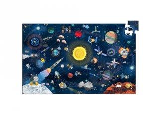 A világűr, Djeco 200 db-os megfigyelő puzzle - 7413 (6-12 év)