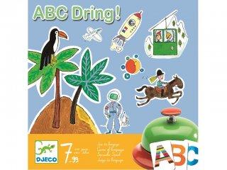 Abc dring (Djeco, 8484, szókincsfejlesztő partijáték, 7-99 év)
