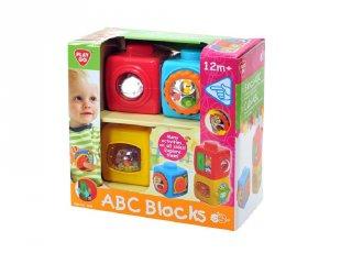 ABC kockák, készségfejlesztő babajáték