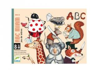 ABC Miam Betűfaló, Djeco kártyajáték - 5147 (8-99 év)