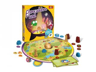 Abracadabra kooperatív társasjáték (Bioviva, varázslós társasjáték óvodásoknak, 4-9 év)
