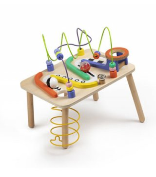 Activity asztal, készségfejlesztő játékok egyben (1-3 év)