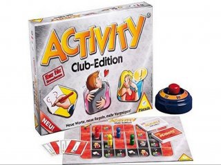 Activity Club Edition (Piatnik, Erotikus partyjáték, 18-99 év)