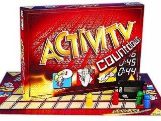 Activity Countdown (Piatnik, 1320 feladványos, digitális órás partijáték, 12-99 év)