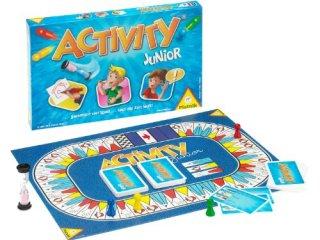 Activity Junior, Új kiadás (Piatnik, 990 feladványos partijáték, 8-12 év)
