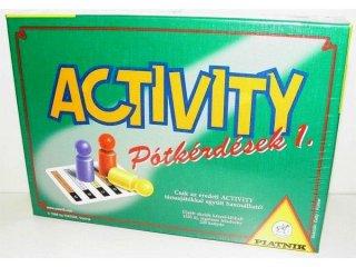 Activity pótkérdések 1. (Piatnik, kiegészítő kártyacsomag, 1300 feladvány, 12-99 év)