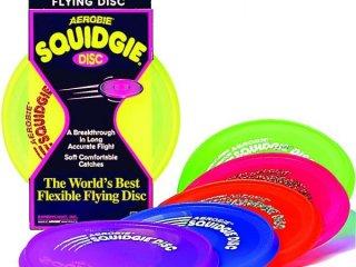 Aerobie Squidgie frizbi (hajlékony, 20 cm átmérőjű,  5-99 év)