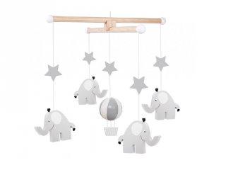 Ágyforgó elefánt, babaszoba kiegészítő (Jabadabado)