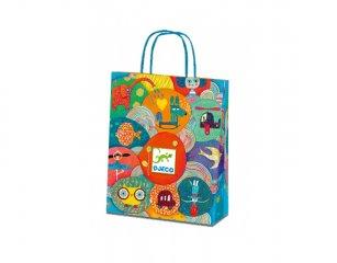 Ajándék táska, kicsi (Djeco, 5926, papír ajándék csomagoló)