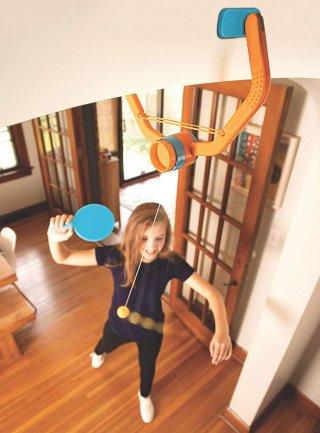 Ajtó ping-pong, Door Pong, mozgásfejlesztő játék (5-99 év)