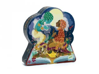 Aladdin 24 db-os formadobozos puzzle, Djeco kirakó - 7281 (3-5 év)