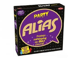 Alias Party (ÚJ KIADÁS Tactic, beszéltetős, szókereső parti társasjáték, 15-99 év)