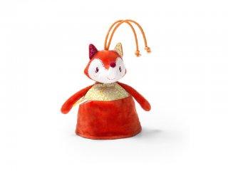 Alice róka kifordítható csörgő (Lilliputiens, 86817, bébijáték, 0-2 év)