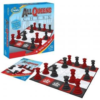 All Queens Chess (Thinkfun, 3450, sakk szerű játék, csak királynő bábukkal, 8-99 év)