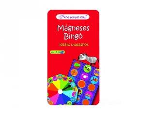 Állat bingó Purple Cow mágneses társasjáték, utazójáték (6-99 év)