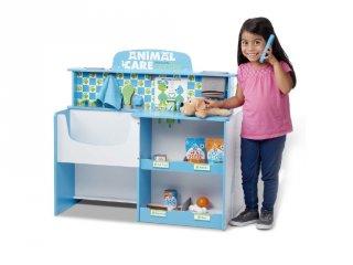 Állatápoló központ, fa szerepjáték (3-8 év)