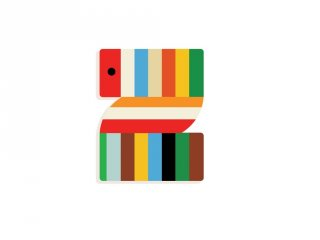 Állatdekor betű fából: Z, Djeco szobadekoráció - 4985