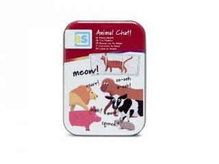 Állati hangok, készségfejlesztő kártyajáték (BS, 3-6 év)
