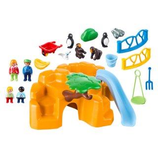 Állatkert kicsiknek, Playmobil szerepjáték (9377, 1,5-4 év)