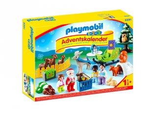 Állatok ünnepe Playmobil Adventi naptár