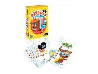 Állatok viadala, kisebb-nagyobb felismerő kártyajáték gyerekeknek (3-6 év)