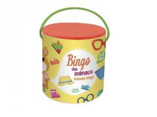 Állatos bingó (Vilac, fa társasjáték, 3-6 év)